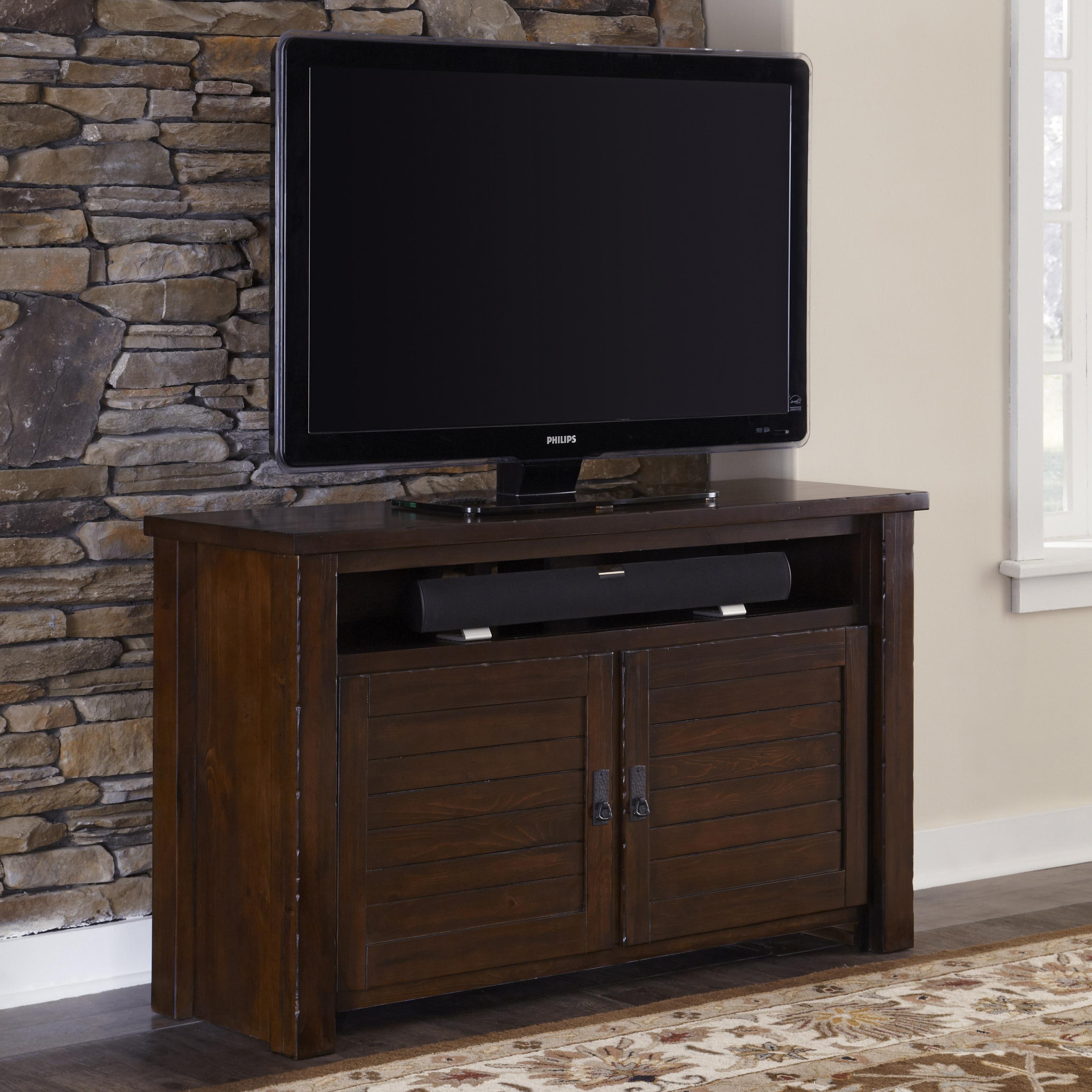 "Progressive Furniture Trestlewood 54"" Console - Item Number: P611E-54"