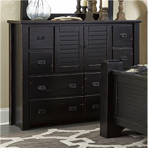 Progressive Furniture Trestlewood Dresser