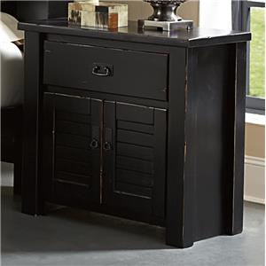 Progressive Furniture Trestlewood Nightstand