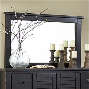 Progressive Furniture Trestlewood Mirror