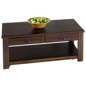 Castered Rectangular Cocktail Table