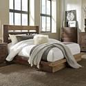 Progressive Furniture Trilogy Queen Bed - Item Number: P624-34+48