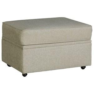 Progressive Furniture Hadley Castered Storage Ottoman
