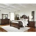 Progressive Furniture Villa Romana Queen Bedroom Group - Item Number: B127 Q Bedroom Group