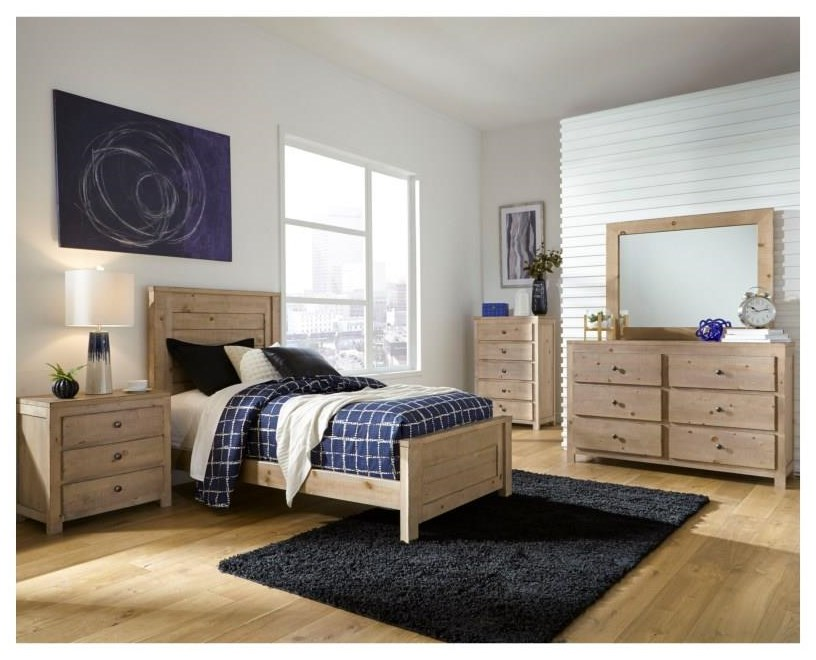6 Piece Twin Bedroom Group
