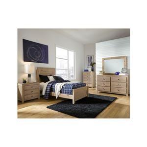 6 Piece Twin Bedroom Group
