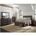 Progressive Furniture Wheaton 4 Piece Full Bedroom Set - Item Number: 598362209