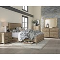 Progressive Furniture Wheaton Full Bed Room Group - Item Number: B62 F Bedroom Group 1