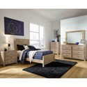 Progressive Furniture Wheaton Twin Bed Room Group - Item Number: B623 T Bedroom Group 1