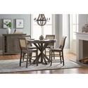 Progressive Furniture Willow Dining Casual Dining Room Group - Item Number: D801 Dining Room Group 6