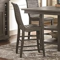 Progressive Furniture Willow Dining Counter Chair - Item Number: D801-63
