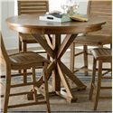 Progressive Furniture Willow Dining Round Counter Height Table - Item Number: P808-15B+15T
