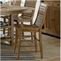 Progressive Furniture Willow Dining Counter Chair - Item Number: P808-63