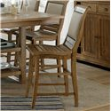 Progressive Furniture Willow Dining Counter Upholstered Chair - Item Number: P808-64