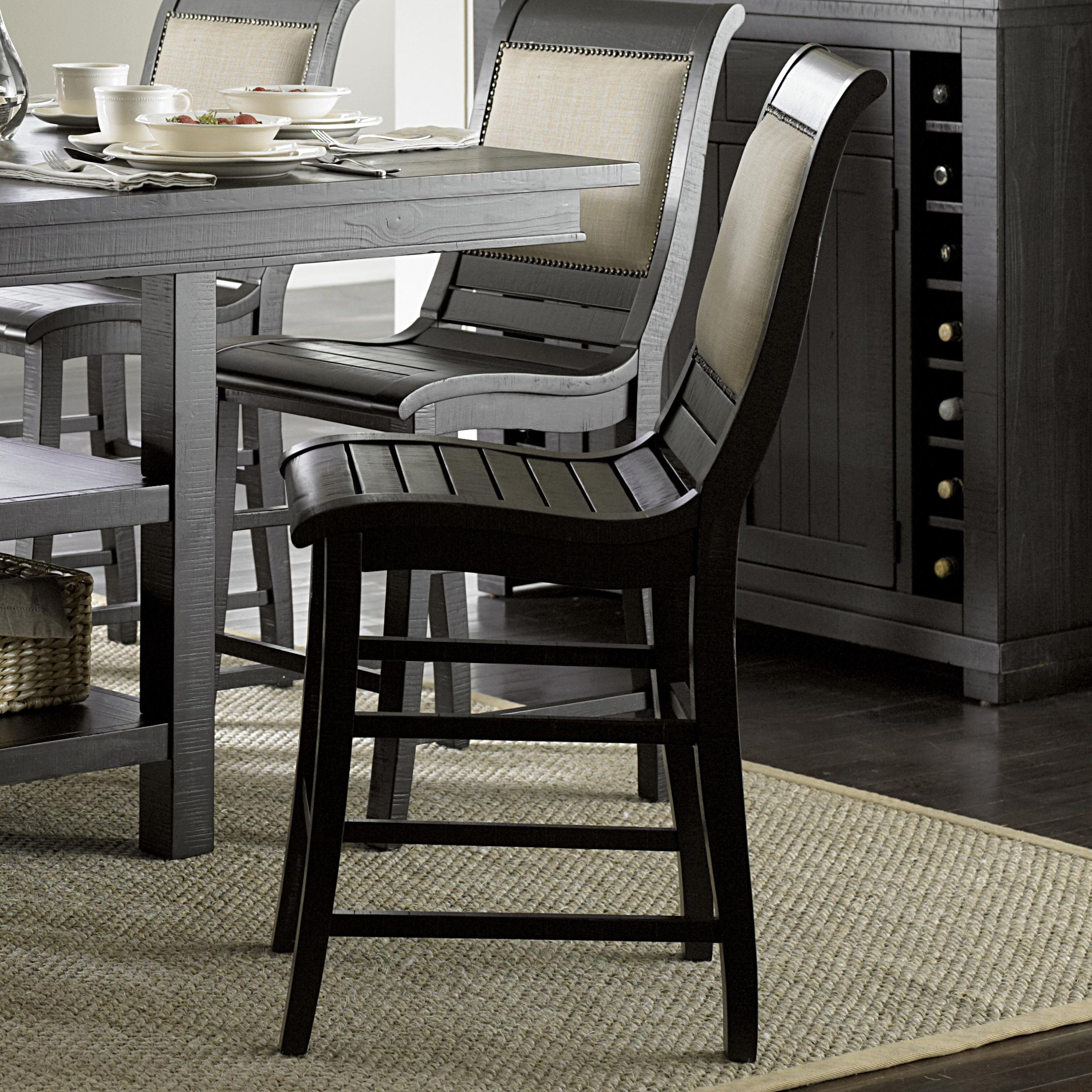 Counter Upholstered Chair
