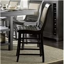 Progressive Furniture Willow Dining Counter Upholstered Chair - Item Number: P812-64