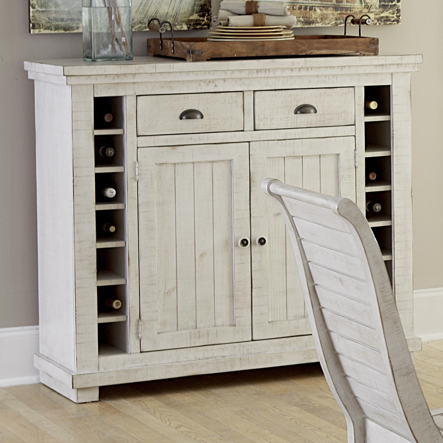 Progressive Furniture Willow Dining Rustic Style Server