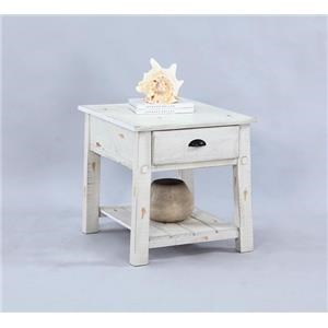 Progressive Furniture Willow Rectangular End Table