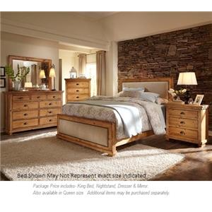 Progressive Furniture Willow 4pc King Bedroom