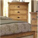 Progressive Furniture Willow Distressed Pine Chest - P608-14
