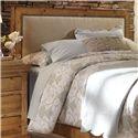 Progressive Furniture Willow Queen Upholstered Headboard - Item Number: P608-34