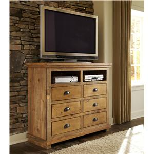Progressive Furniture Willow Media Chest