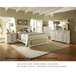 Merveilleux Progressive Furniture Willow 4pc King Bedroom