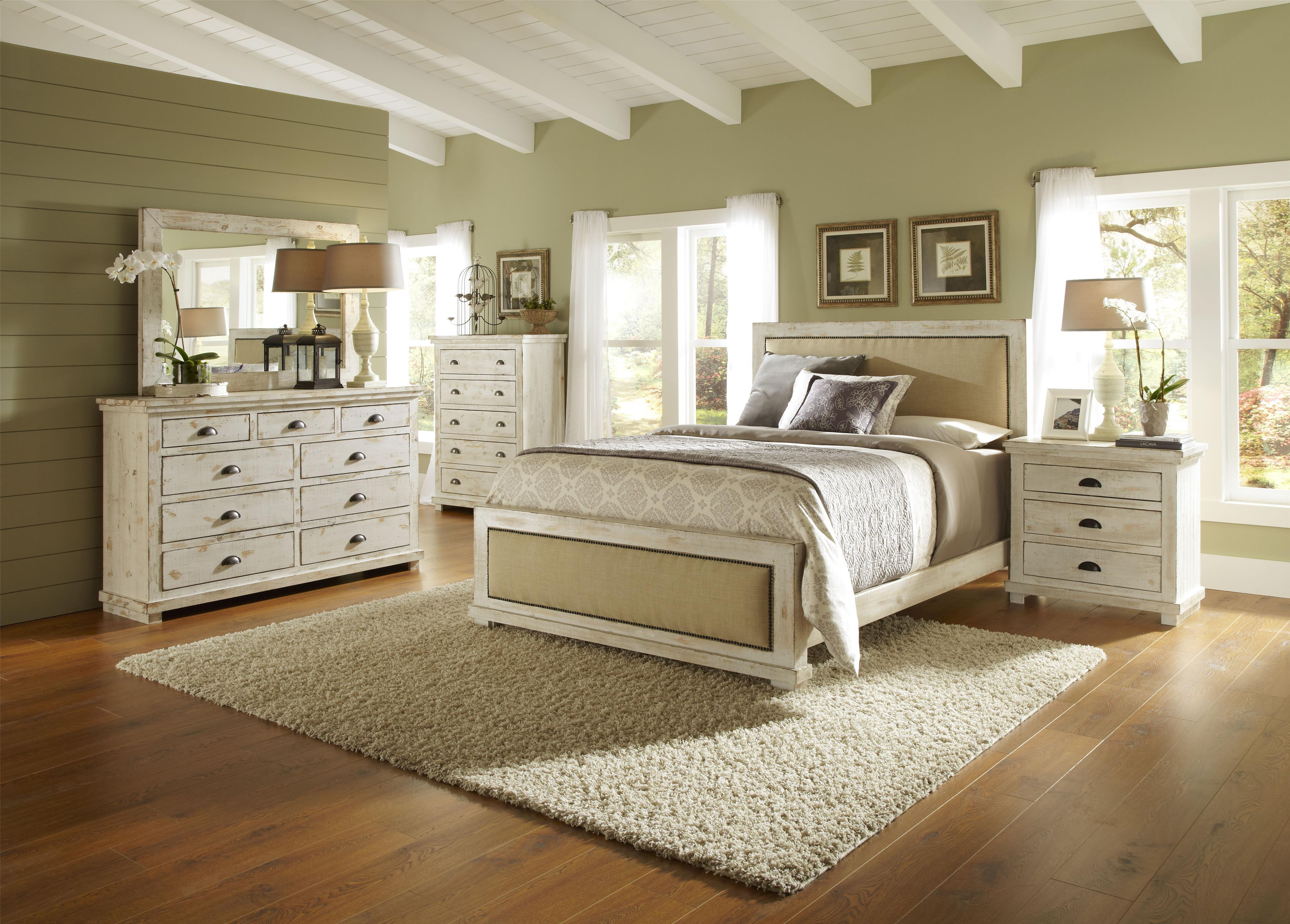 Progressive Furniture Willow Queen Bedroom Group Hudson