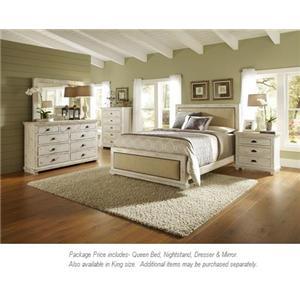 Progressive Furniture Willow 4PC Queen Bedroom