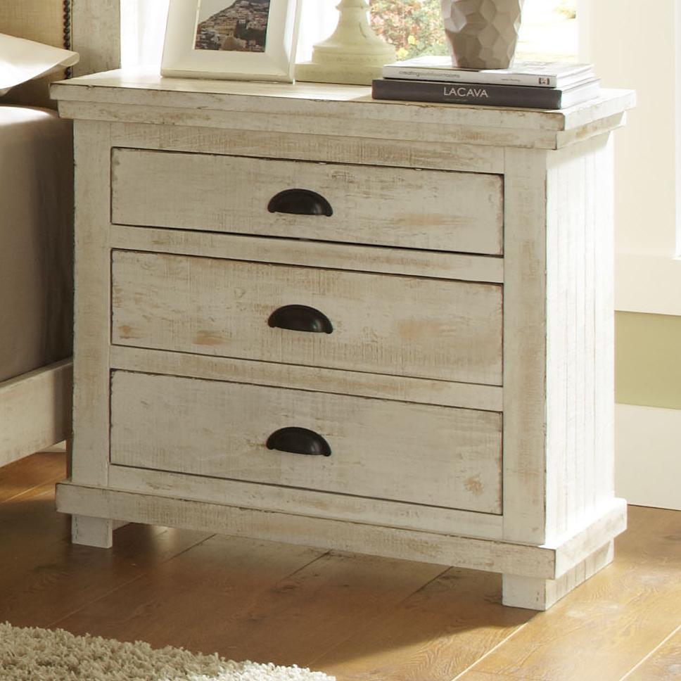 Captivating Progressive Furniture Willow Nightstand   Item Number: P610 43