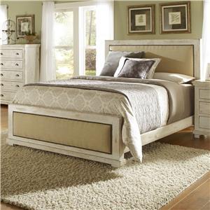 Progressive Furniture Willow King Upholstered Bed