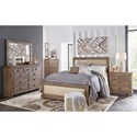 Progressive Furniture Willow California King Bedroom Group - Item Number: P635 CK Bedroom Group 2