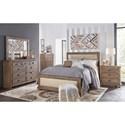 Progressive Furniture Willow Full Bedroom Group - Item Number: P635 F Bedroom Group 2