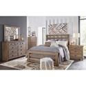 Progressive Furniture Willow King Bedroom Group - Item Number: P635 K Bedroom Group 1