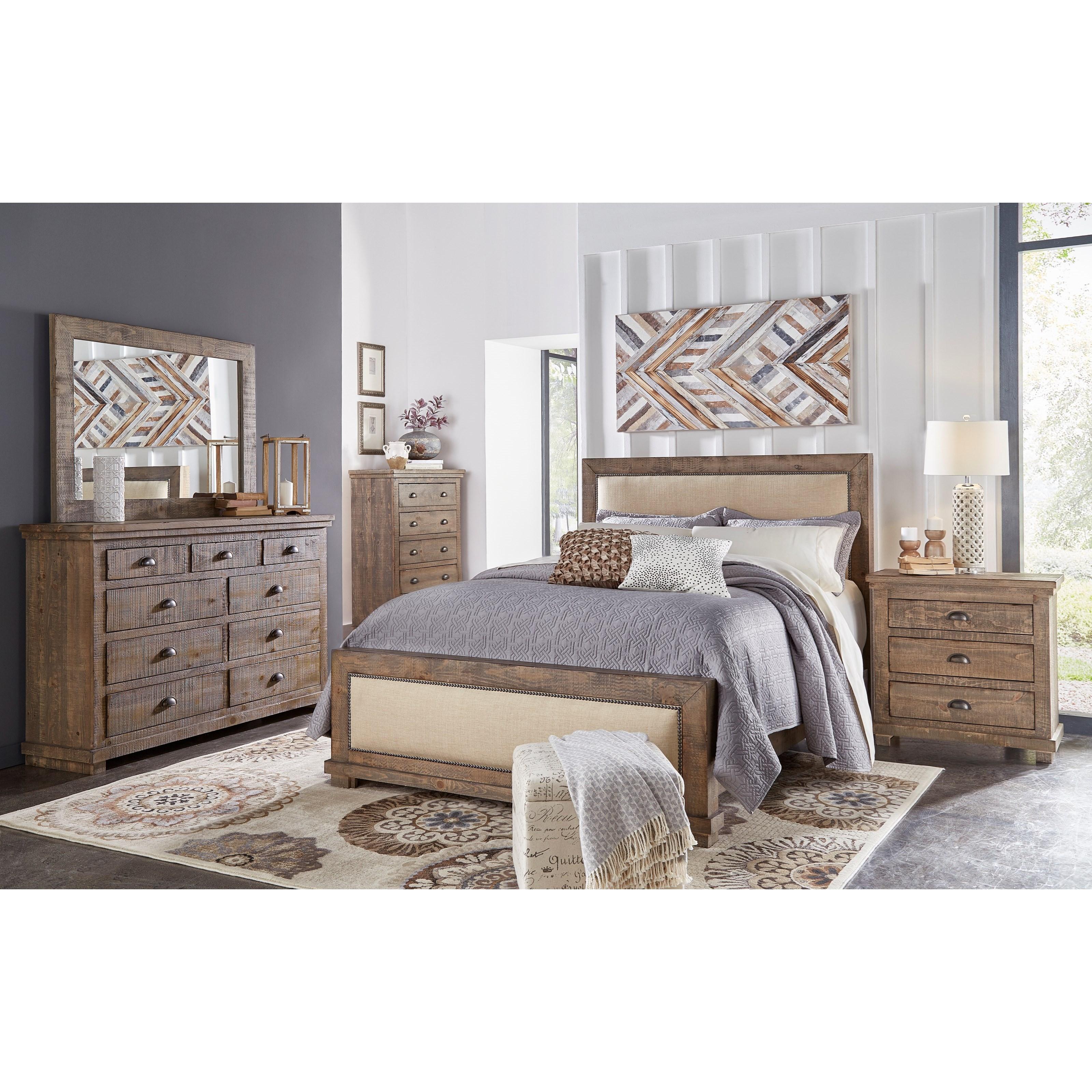 Progressive Furniture Willow King Bedroom Group Lindy S Furniture Company Bedroom Groups