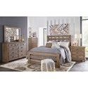 Progressive Furniture Willow Queen Bedroom Group - Item Number: P635 Q Bedroom Group 1