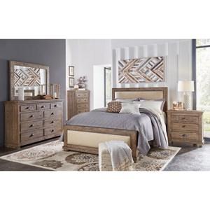 Progressive Furniture Willow Queen Bedroom Group