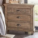 Progressive Furniture Willow Nightstand - Item Number: P635-43