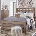 Progressive Furniture Willow California King Slat Bed - Item Number: P635-80+81+98