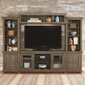 Progressive Furniture Willow Wall Unit - Item Number: P635E-20+22+68+90