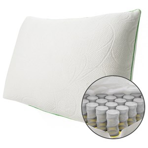 Queen Soft Down Alternative Hybrid Pillow