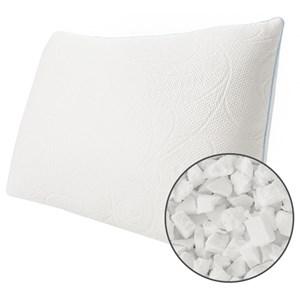 Queen Med Cluster Memory Foam Pillow