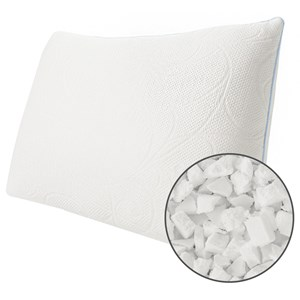 Protect A Bed Cluster Memory Foam Crystal Pillow Queen
