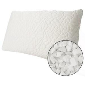 Queen Snow Memory Foam Cluster SOFT Pillow