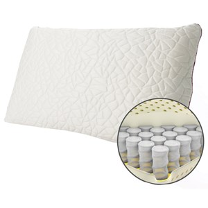 Queen Snow Memory Foam Hybrid MEDIUM Pillow