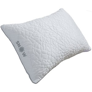 Protect-a-Bed Snow Pillows Queen Medium Snow Pillow for Back Sleepers