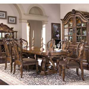 Pulaski Furniture San Mateo 7 Piece Dining Set
