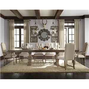 Pulaski Furniture Accentrics Home 7 Piece Table & Chair Set