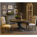 Pulaski Furniture Accentrics Home 3 Piece Table & Chair Set - Item Number: 201007+08+2x205021