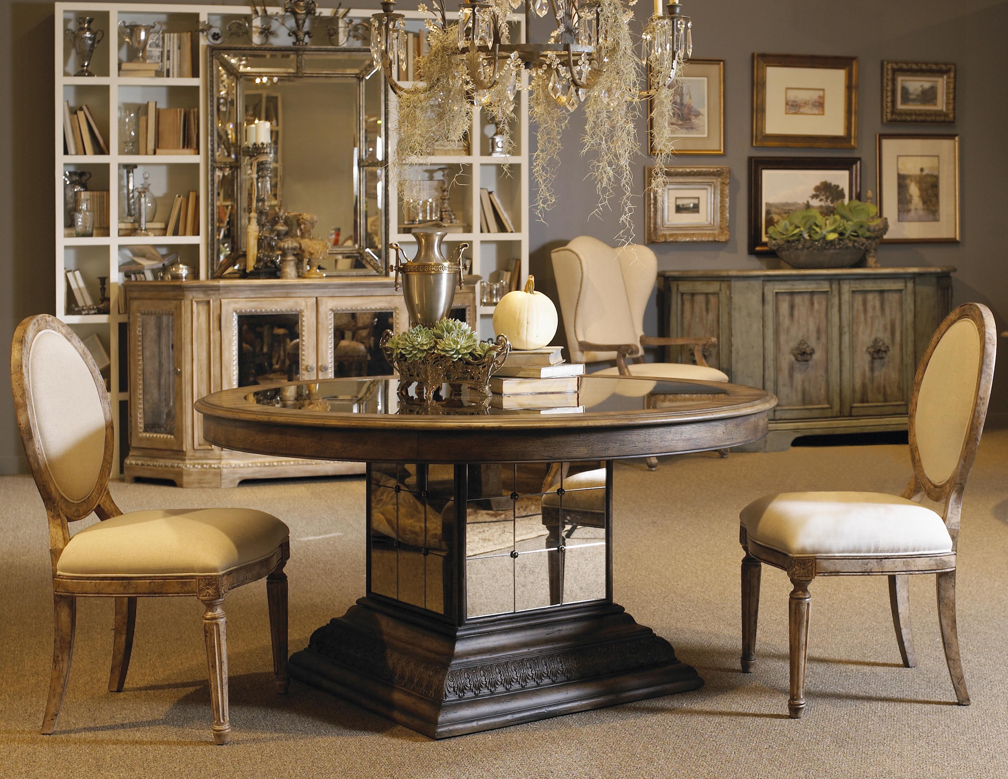 Pulaski Furniture Accentrics Home 3 Piece Aphrodite Table U0026 Anthousa Side  Chair   AHFA   Dining 3 Piece Set Dealer Locator